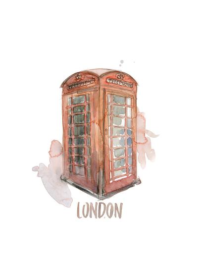 London Booth-Brenna Harvey-Premium Giclee Print