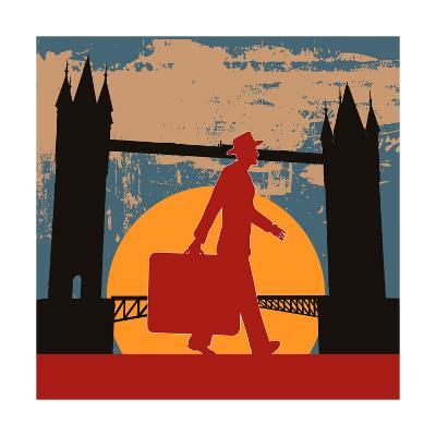 London Break-Petrafler-Art Print
