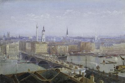 London Bridge and the City of London, 1892-John Crowther-Giclee Print