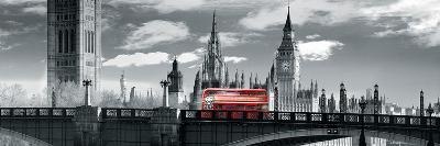 London Bus VI-Jurek Nems-Giclee Print