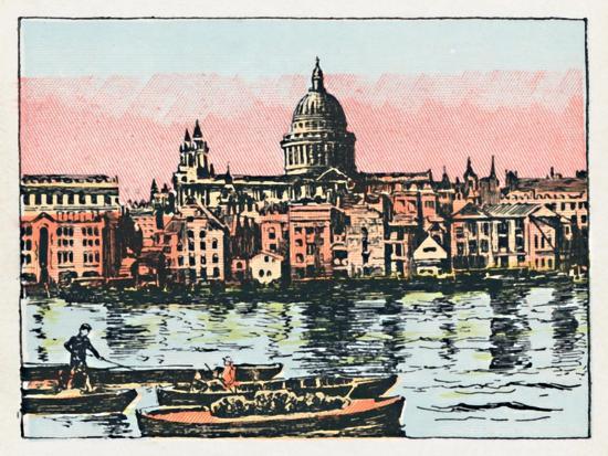 'London', c1910-Unknown-Giclee Print