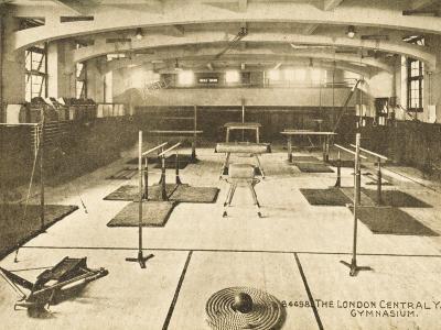 London Central YMCA Gymnasium--Photographic Print
