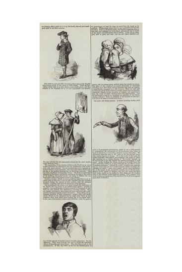 London Charities--Giclee Print