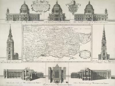 London Churches--Giclee Print