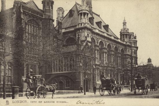 London, City of London School--Photographic Print