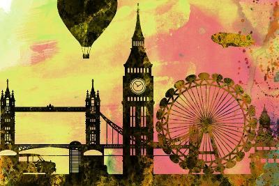 London City Skyline-NaxArt-Art Print