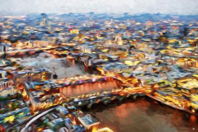 London Cityscape I - In the Style of Oil Painting-Philippe Hugonnard-Giclee Print