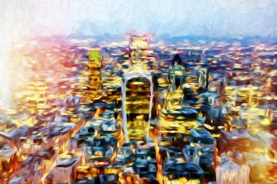 London Cityscape II - In the Style of Oil Painting-Philippe Hugonnard-Giclee Print