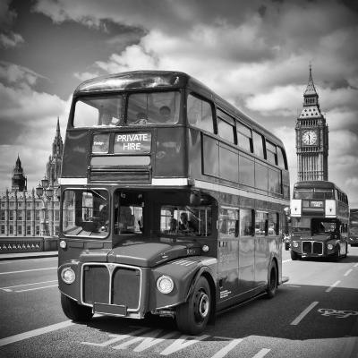 London Classical Streetscene-Melanie Viola-Art Print