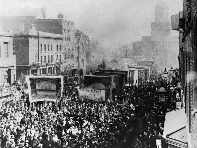 London Dock Strike, 1889--Giclee Print