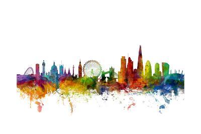 London England Skyline-Michael Tompsett-Art Print