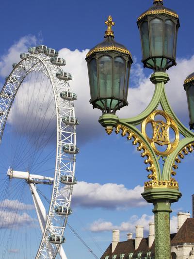 London Eye, London, England, United Kingdom, Europe-Jeremy Lightfoot-Photographic Print