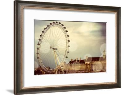 London Ferris Wheel-Emily Navas-Framed Photographic Print