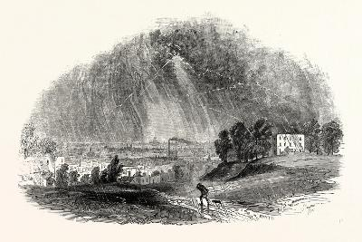 London, from Blackheath, During the Storm, August, 1846, UK--Giclee Print