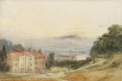 London from Blackheath-James Holland-Giclee Print