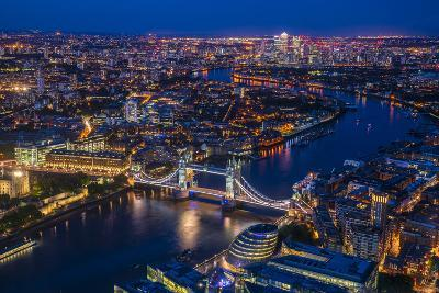 London from Shard-Marco Carmassi-Photographic Print