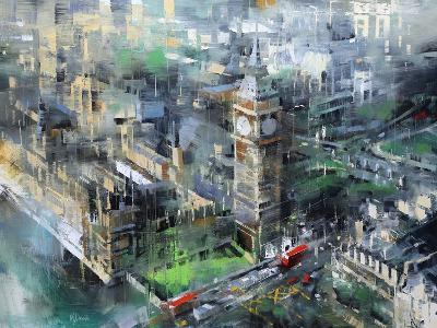 London Green - Big Ben-Mark Lague-Art Print