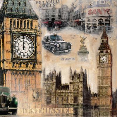 London II-John Clarke-Art Print