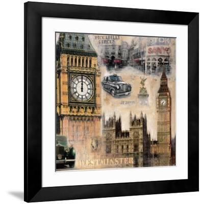 London II-John Clarke-Framed Art Print