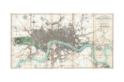 London in Miniature-Edward Mogg-Giclee Print