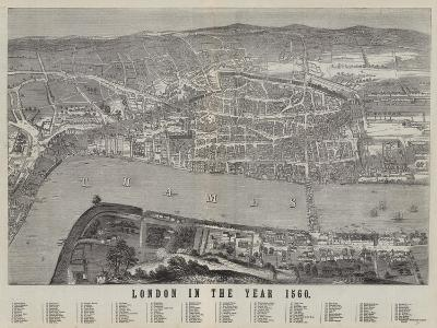 London in the Year 1560--Giclee Print