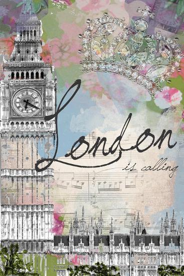 London Is Calling-Jodi Pedri-Art Print