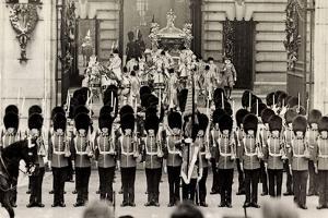 London, King George Vi, Queen Elizabeth, Coronation