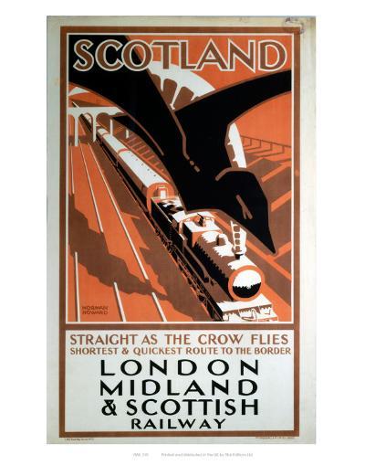 London Midland and Scotland Railway--Art Print