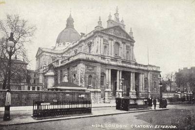London Oratory: Exterior--Photographic Print