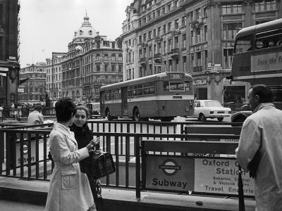 London, Oxford Circus--Photographic Print