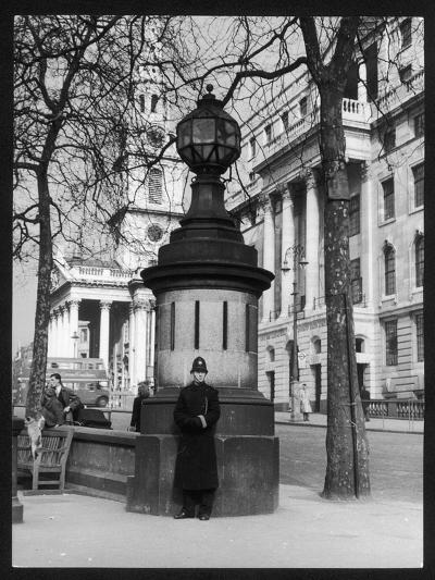 London Police Box--Photographic Print