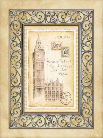 London Postcard-Andrea Laliberte-Art Print