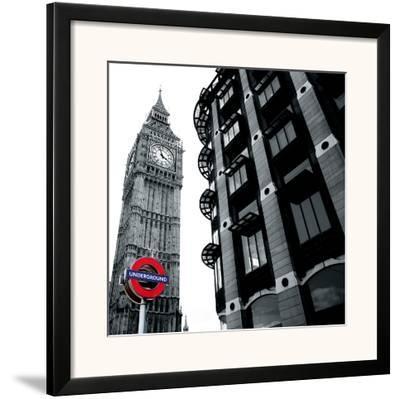 London Sights I-Joseph Eta-Framed Giclee Print