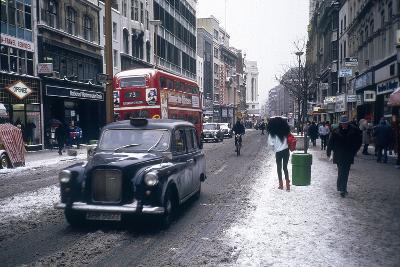 London Snow--Photographic Print