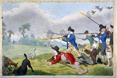 London Sportsmen, or the Cockney's Journal of the First of September, 1821--Giclee Print
