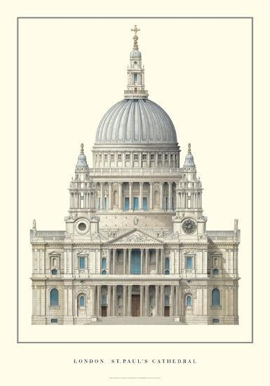 London, St. Paul's Cathedral-Unknown-Art Print