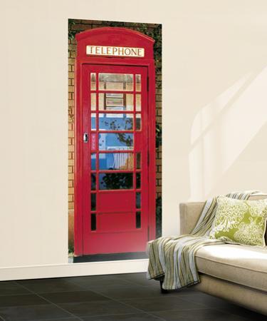 London Telephone Box Mural