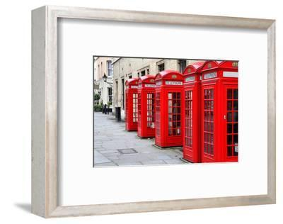 London-Telephone Covent Garden--Framed Art Print