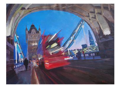 London Tower Bridge With Shard 2-M Bleichner-Art Print
