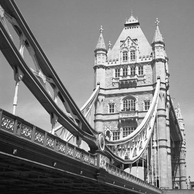 London Tower Bridge-Dave Butcher-Art Print