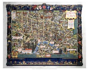 London Town Map