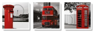 London Triptych--Canvas Art Set