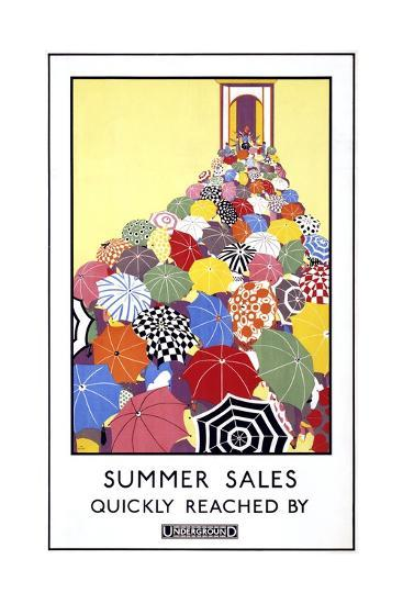 London Underground Poster--Giclee Print