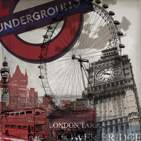 London Underground-Sidney Paul & Co.-Art Print
