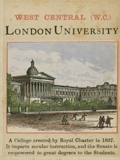 London University--Giclee Print