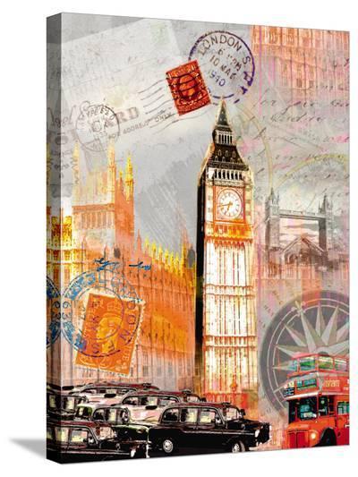London Vintage-Robin Jules-Stretched Canvas Print
