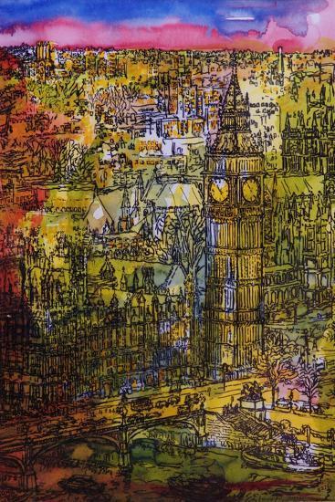 London, Westminster-Brenda Brin Booker-Giclee Print