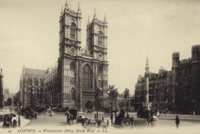 London - Westmister Abbey--Photographic Print