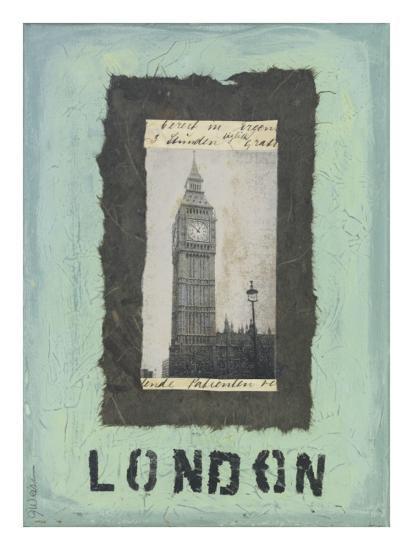 London-Jan Weiss-Art Print