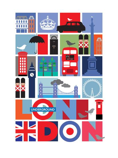 London-Visual Philosophy-Art Print